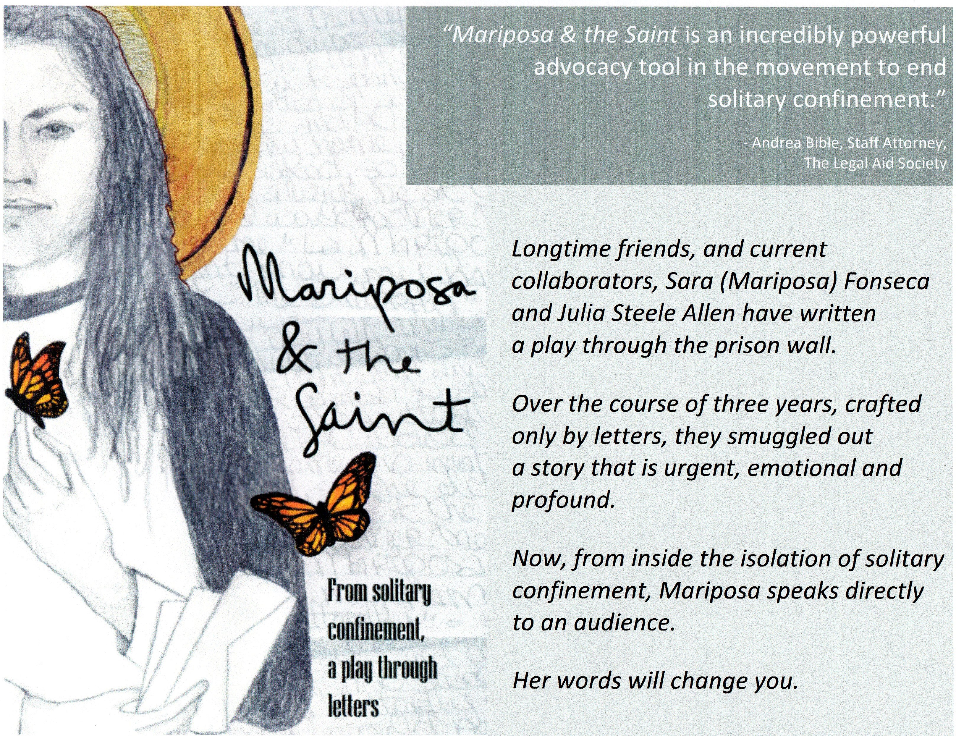Mariposa & the Saint announcement