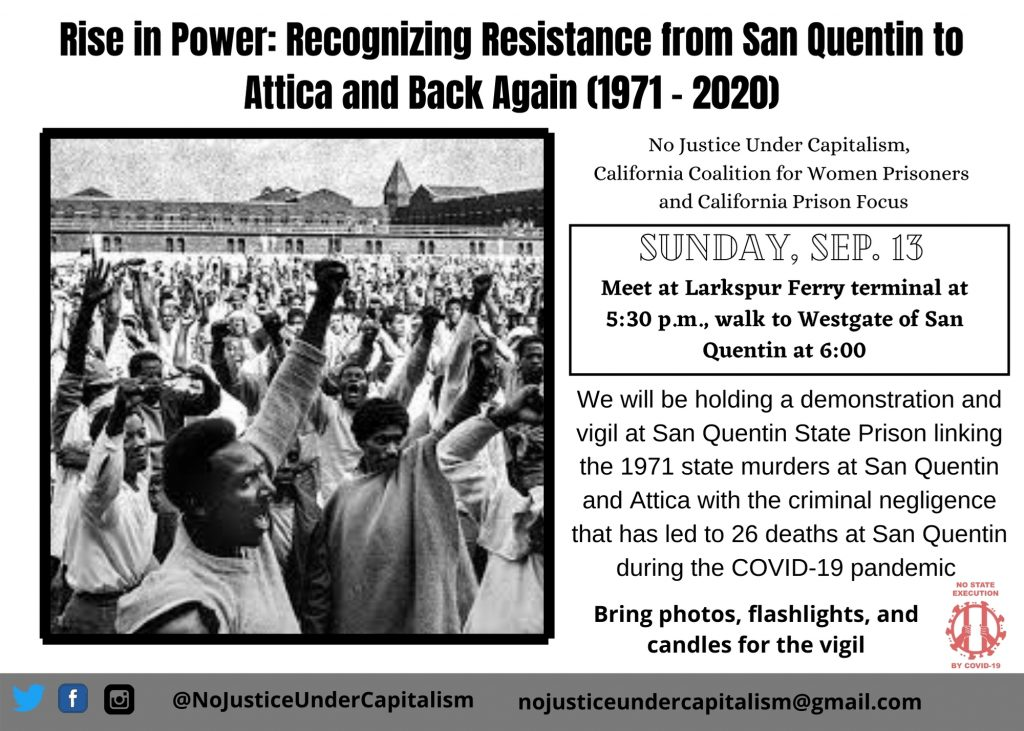 Rise in Power: San Quentin Demonstration & Vigil