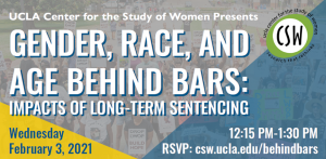 Gender, Race, and Age Behind Bars: Impacts of Long-Term Sentencing @ Zoom